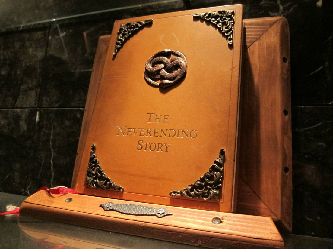 The Neverending Story original prop on ebay