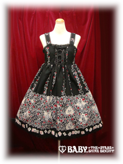 Alice and the Pirates — Beardsley Alice Rose — jumperskirt — Black