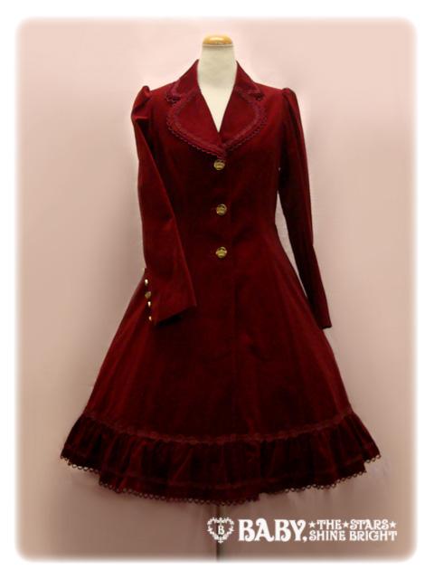 Alice and the Pirates — Jizelia velvet coat — Wine