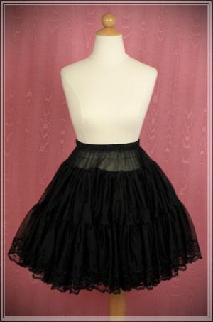 Candy Violet — Lace petticoat