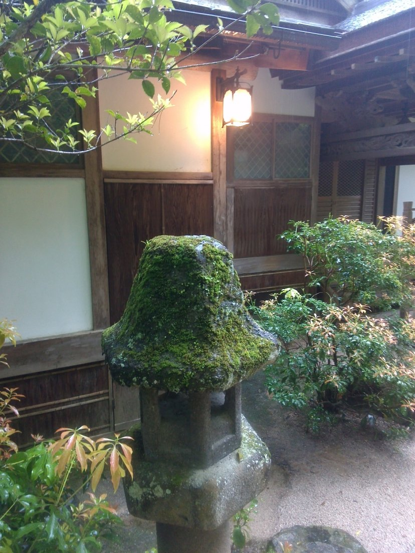 Ryokan near the primeval forest