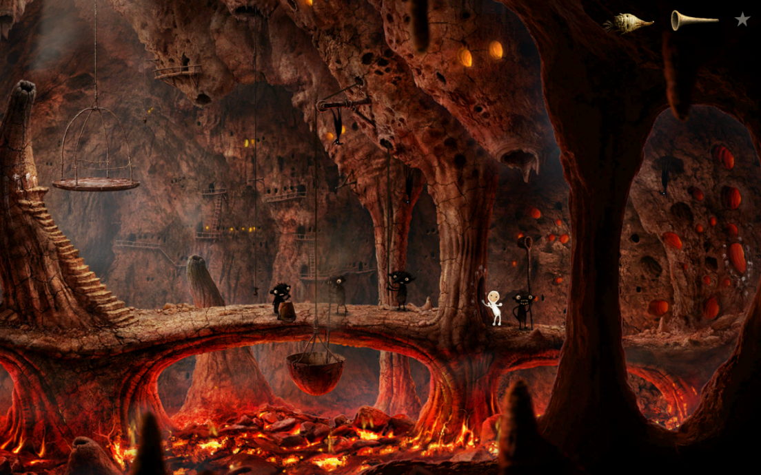 Screenshot of Samorost 3